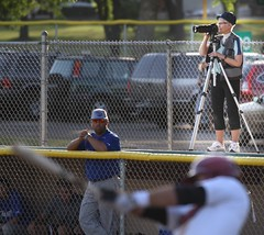 Got it covered. (Paul L Dineen) Tags: 2013 baseball fortcollins colorado fortcollinsfoxes foxes woodenbat slammers highfive fcf8 sports photographer camera dugout smnotchecked baseballnov17 csl csl2014to2016 csltodo isdone college city