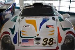Porsche Ausstellung, Linz (austrianpsycho) Tags: auto car linz t front exhibition porsche 38 ausstellung 2012 sportwagen ezgo rennwagen tabakfabrik designmythosinnovation