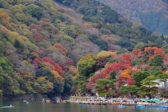 Autumn Color at Arashiyama in Kyoto (kyoshiok) Tags: autumn color japan kyoto arashiyama