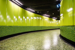 Hong Kong   |   Lime Twist (JB_1984) Tags: china hk colour green subway hongkong metro twist tunnel lime curve 香港 hongkongisland tunnelvision mtr wanchai hongkongsar islandline wanchaidistrict
