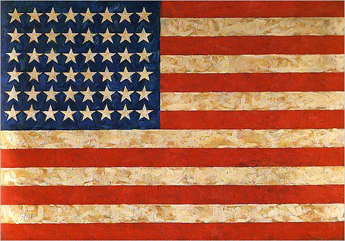 Johns, Jasper (1930- ) - 1958 Flag (Private Collection)