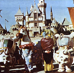 Elephants and a pony in front of Sleeping Beauty's Castle, 1966 (Tom Simpson) Tags: christmas elephant vintage 60s disneyland disney 1966 parade 1960s christmasparade vintagechristmas jackandjill sleepingbeautyscastle disneyparade vintagedisneyland disneylandparade vintagedisney disneychristmas disneylandchristmas fantasyonparade