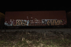 Orek  Ahsk  Manir (Revise_D) Tags: graffiti trains revise graff tagging revised trainart epc bsgk orek ahsk manir revisedesigns revisedesign benchingsteelgiants