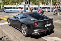 Ferrari F12 Berlinetta Black Matt (F.D. | Car-Photography) Tags: black matt switzerland ferrari zürich f12 berlinetta