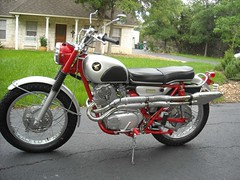 . (Nicola_R) Tags: classic honda japanese motorbike motorcycle cb77 cl77
