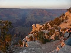 South Rim sunset #4 (jb10okie) Tags: park travel sunset vacation arizona usa america spring nps grandcanyon trails nationalparks canyons southrim grandcanyonnationalpark 2013 southrimtrail