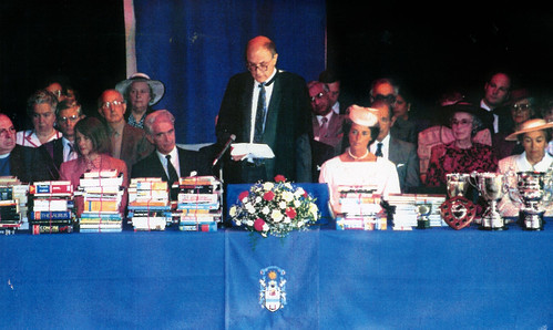 Prize Giving Day Hutchesons Grammer School 1991 Celebrating the  350th Anniversary of the Foundation of the Hutchesons Trust.