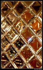 Crystal (alton.tw) Tags: china light white abstract texture glass diamonds asian lights amber nikon asia crystal squares cut surface minimal refraction tropical macau minimalism peninsula glimmer etch alton brilliant altonthompson minimalist macao   2014 hotellisboa grandlisboa  altonsimages specialterritory