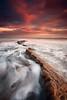 Hauxley (Alistair Bennett) Tags: seascape sunrise coast rocks northumberland amble druridgebay coquetisland hauxley nd12 canonef1740mmƒ4lusm gnd075he hauxleyhaven