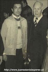 Con Pablo Garrido, músico y dedicado estudioso de la cueca, danza nacional de Chile.