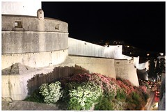 The City Walls@Dubrovnik, Croatia (Inga Vuljanko Desnica (catching up....)) Tags: night nightscape croatia citywalls fortress dubrovnik saariysqualitypictures