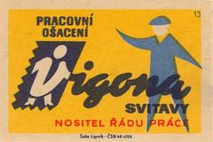 czechoslovakian matchbox label (maraid) Tags: czech label fabric packaging textiles matchbox czechoslovakian