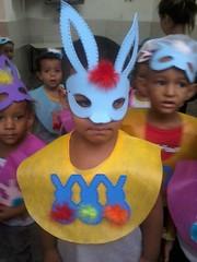Modelito para a Páscoa (vaca festeira) Tags: eva páscoa fantasia coelho máscara