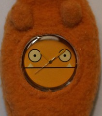 Uglydoll Prototype Sample Watch - Wage - David Horvath (jcwage) Tags: giantrobot doll handmade oneofakind watch ox collection prototype ugly sample trunk tray gr uglydoll samples rare uglydolls icebat babo jeero zakka wage uglydog jeer horvath wedgehead gr2 davidhorvath sunmin oneofkind uglycon
