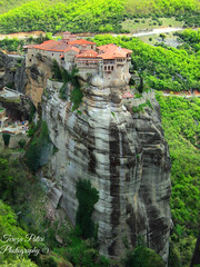 Meteora rocks, Greece (Terezaki ) Tags: trip travel trees vacation mountain green nature photography photo rocks searchthebest hellas unesco greece monastery pictureperfect meteora 2014 naturesfinest  thessaly  150fav 100faves 50faves 200fav unescoworldheritagelist 100favs 200favs 190favs anawesomeshot flickrdiamond  theperfectphotographer   flickrandroidapp:filter=none