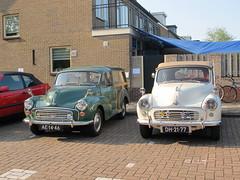1967/1962 Morris Minor Traveller & Cabriolet (Stollie1) Tags: traveller morris minor cabriolet 19671962