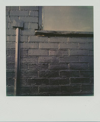 It's not as black as Malevich's square (Pictures from the Ghost Garden) Tags: sabrina abstract black slr art film buildings square polaroid sx70 surrealism bricks filter tip 600 integral instant worcestershire analogue minimalism racecourse folding worcester reference pretentious density impossible obscure einsturzende neubauten malevich neutral polaroidsx70 onestep severnside fpp suprematism instantfilm foldingcameras nd4 pitchcroft impossibleproject filmphotographyproject