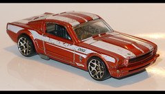 65' mustang fastback (baffalie) Tags: old classic ford vintage toys miniature us mini retro jouet ancienne diecast jeux classicas