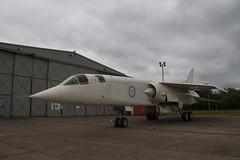 RAF BAC TSR-2 XR219 (John Hague) Tags: apache eurofighter spitfire vulcan redarrows typhoon raf bac cosford royalairforce supermarinespitfire fightingfalcon tsr2 xh558 avrovulcan vulcanb2 vulcantothesky ab910 spitfirevb generaldynamicsf16am xr219 bastsr2