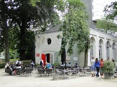 Orangerie in the Egmont Park, now a restaurant (Joop van Meer) Tags: brussels orangerie 2015 gr12 egmontpark