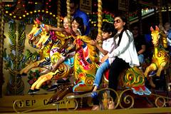 Southbank Carousel (KrzysztofStudniarek) Tags: street london fun carousel southbank coulour