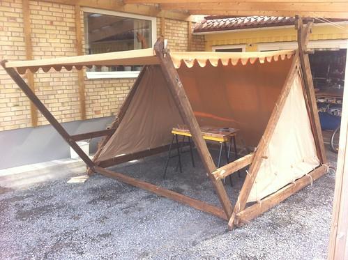 medeltid tält