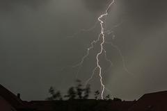 thunderstorm over Halle/Saale (MR-Fotografie) Tags: wetter gewitter hallesaale sachsenanhalt thunderstorm lightning cloudy evening rain weather nikon d7100 tokina 1228mm mrfotografie explore