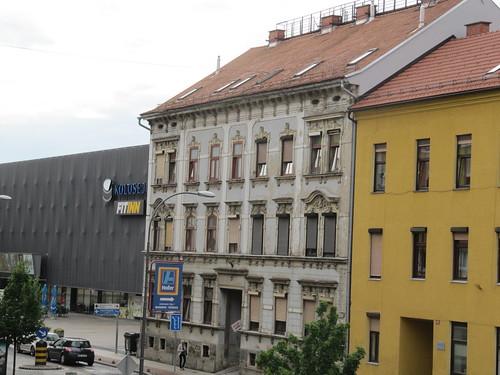 Gebäude in der Ulica kneza Koclja