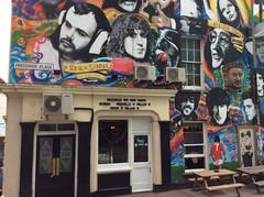 Brighton Street Art (Rory Llowarch) Tags: england streetart art graffiti sussex artwork brighton artistic westsussex political satire elvis urbanart loureed artists johnlennon iandury marcbolan johnpeel georgeharrison graffitiart joestrummer jimmorrison frankzappa politicalart cites brianjones brightonandhove brightonhove oliverreed keithmoon georgebest brightonengland theprincealbert princealbertpub brightonsussex princealbertpubbrighton theprincealbertbrighton