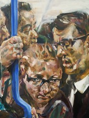 20170126_084713 (London_Sketches) Tags: portrait tube underground londonunderground londonsketches oilpainting painting tflart portrature londonart paintings commute travel london sketches