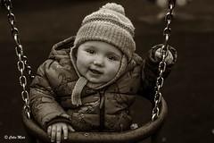Having fun - 2017-02-24 15-15-17 - DSC01180-2 (colin.mair) Tags: asahi pentax50mm serno7238422 f56 prestwick ayrshire swing park bw grandson 50mmf17 sony ilce6000