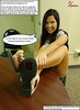 An End to the Cheater (Red Neptune) Tags: giantess gts feet crush stomp sandals shrunkenman asian sm