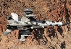 fighting omars (Dafydd RJ Phillips) Tags: aviation military transition jedi wars star rainbow canyon f18 hornet valley death usa air us navy squadron aggressor omars fighting base naval oceana vfc12