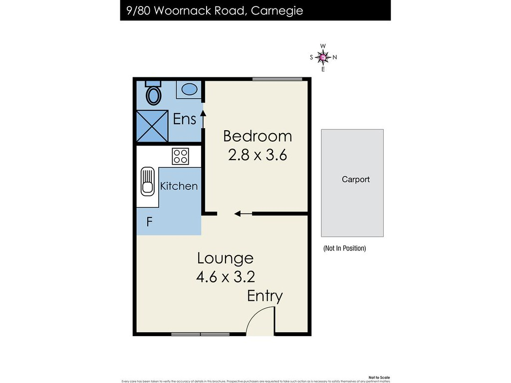9/80 Woornack Road floorplan