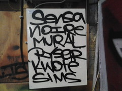(Aim2Kill225) Tags: graffiti mural sims noire ryser sensa kwote flickrandroidapp:filter=none