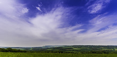 Chilham Countryside (karlos06) Tags: blue grass countryside spring filter fields graduated chilham skuy blinkagain