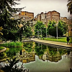 Plaza de Europa #gijn #asturias #streets... (AsturIphone) Tags: streets reflection asturias gij uploaded:by=flickstagram estoesasturias instagram:venue_name=plazadeeuropa instagram:photo=1824270115035859768026757 instagram:venue=760320