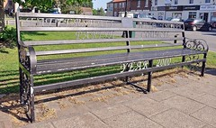 10109 (benbobjr) Tags: uk england bench chair unitedkingdom seat lincolnshire lincoln marketplace warmemorial midlands tattershall eastmidlands coningsby eastlindsey lincolnshirefens