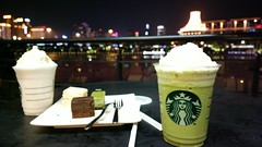 Starbucks everywhere (Andrew.T@NN) Tags: cake shopping nokia scene starbucks frappuccino nanning guangxi 808 pureview