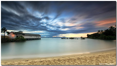 0S1A0863-Edit (Steve Daggar) Tags: sunset beach sunrise tropical cairns seascap qyeensland