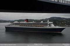 Queen Mary 2 (MortenNikonMaster) Tags: cruise 2 june norway mary queen cruiseship passenger 12 bergen queenmary2 cunard liner oceanliner cruiseliner 2013 passengervessel nikond7000 cruiseshipoftheyear2013 12june2013