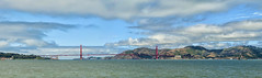 Golden Gate Bridge (Davor Desancic) Tags: sanfrancisco california fog sailboat goldengatebridge