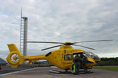 Helimed 5 (GWMcLaughlin) Tags: scotland clyde glasgow helicopter nhs bond emergency eurocopter helipad heliport ec135 airambulance clydeside emergencyservices egeg gsphu eurocopterec135t2 helimed emergencyaircraft ec135t2 helimed5 glasgowheliport bondairservices clydeheliport bondaviationservices