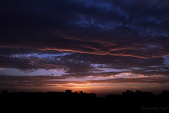 """June 15"" (Amaninder hunjan) Tags: sunset sky beautiful artist god lovely"