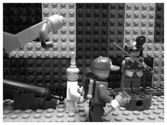 Lego Luigi and E. Gadd in the Haunted Mansion! (Luigi Fan) Tags: moon dark lego ghost haunted e mansion luigi luigis gadd
