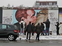 Voyeurs (vittorio vida) Tags: berlin germany graffiti kiss politics communism charlie berlinwall alexanderplatz ddr murales wache checkpoint pergamon gorbachev museuminsel breznev vopo wallberlinwall