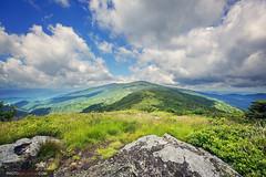 Roan Highlands (Malcolm MacGregor) Tags: fog highlands ridge appalachian roan appalachiantrail roanmountain grassyridge roundbald janebald thechallengefactory