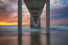Ocean Beach (mojo2u) Tags: california sunset pier sandiego ob obpier oceanbeachpier nikon2470mm nikond800