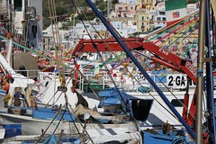 Ponza Port Chaos (World-Eats) Tags: italy islands moonlight ports ponza seascap italianports