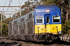 Home territory (PJ Reading) Tags: electric afternoon curves central sydney bluemountains terminal commuter emu passenger interurban intercity cityrail springwood doubledeck vset nswtrains stomingground